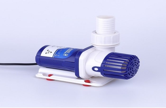 White and Blue Aquarium DC Water Pump